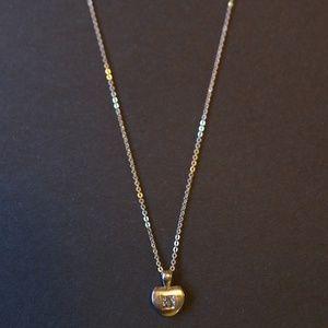 Jewelry - Diamond Heart Necklace w/ 14K White Gold Chain